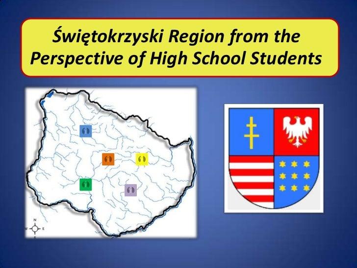 Świętokrzyski Region from thePerspective of High School Students