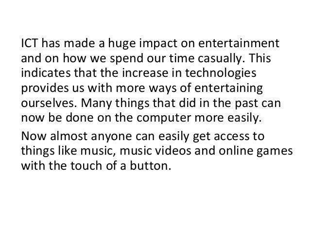 Entertainment Amp Ict