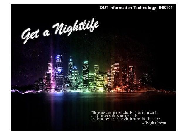 INB101 Service Mashup QUT Information Technology: INB101