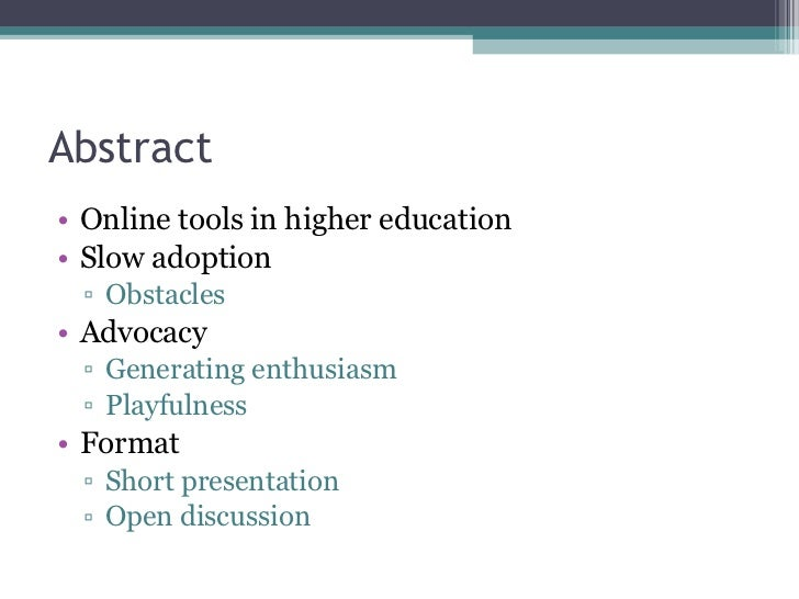 Enthusing Higher Education Getting Universities and Colleges to Play with Online Tools and Services Slide 2