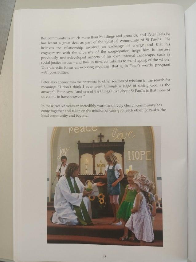 A History of St Paul's Community