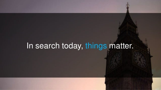 Getting Things To Rank: Improve Search Visibility Using Entities Slide 3