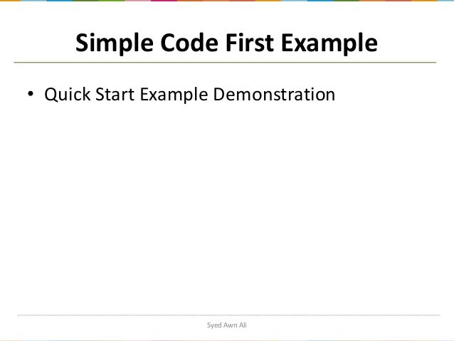 Entity framework code first