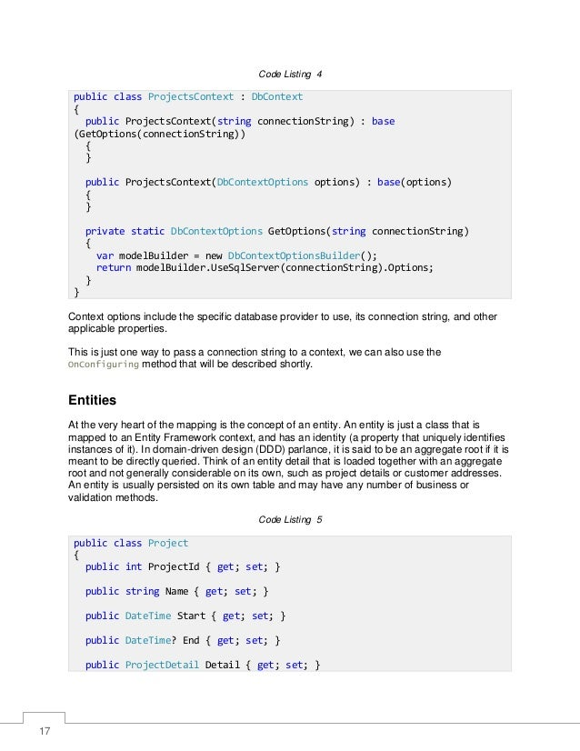 Entity frame work_core_succinctly