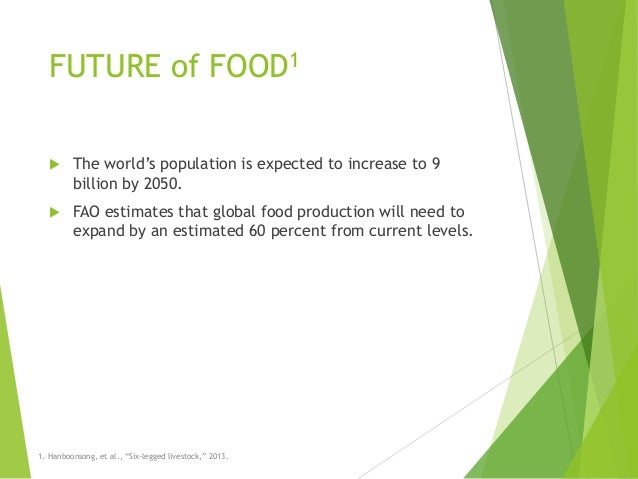 Entomophagy: why eat insects? Slide 3