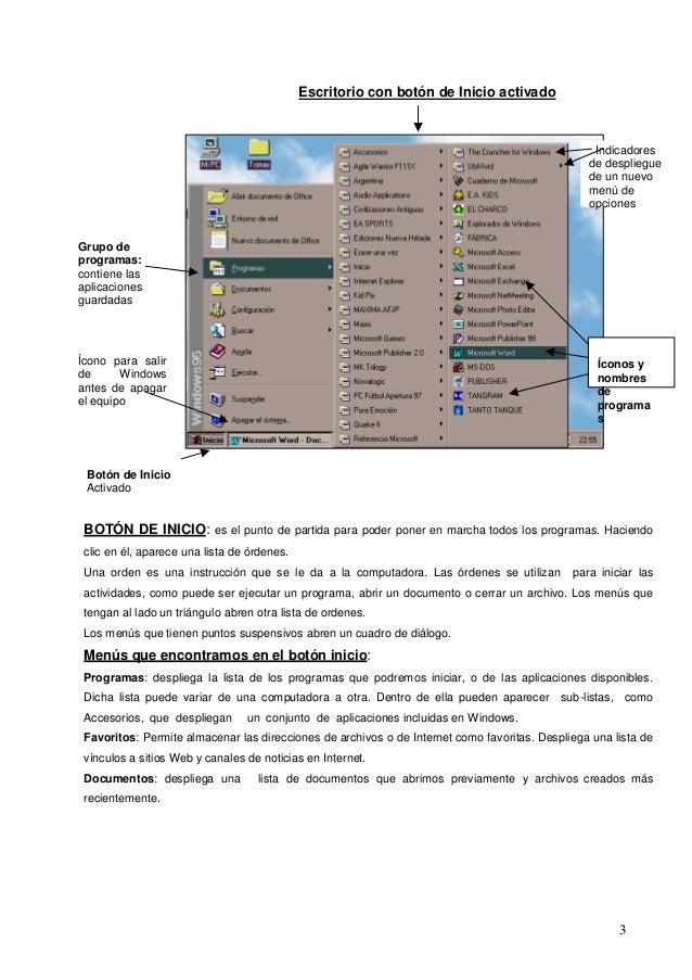Entorno del escritorio de una computadora Slide 3