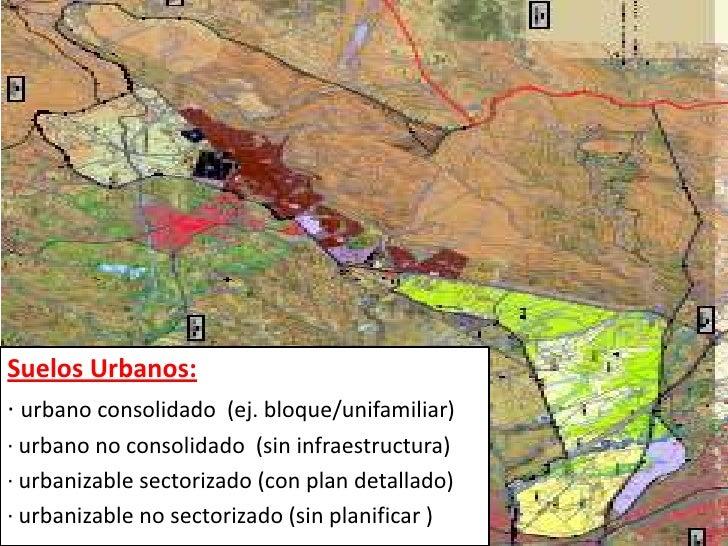 Entorno escorial pgou sanlorenzo2009 for Suelo no consolidado