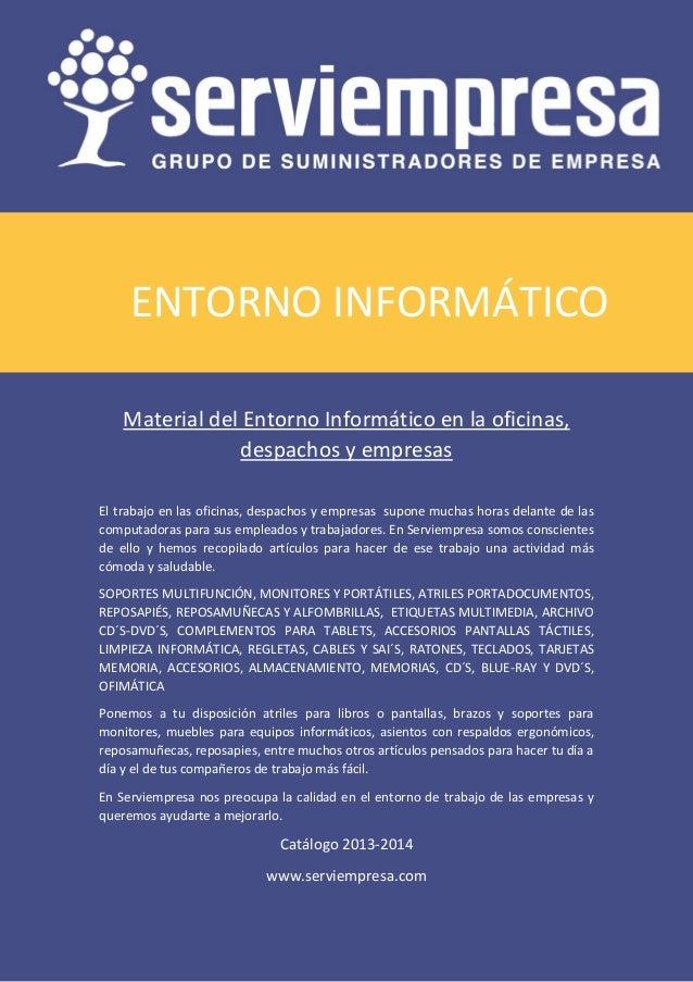 f447c83e0 Entorno Informático material de oficina Serviempresa 2013 2014