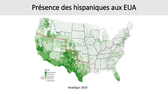 Présence des hispaniques aux EUA Readtiger 2010