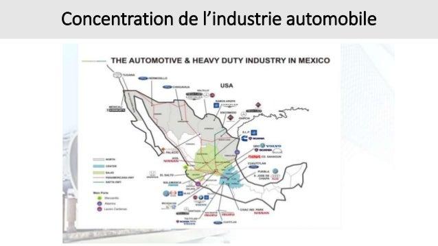 Concentration de l'industrie automobile