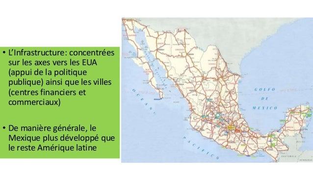 Transport marchandises Malgré ce que prévoit l'ALENA, les camions mexicains ne peuvent pas rouler sur le territoire des EU...
