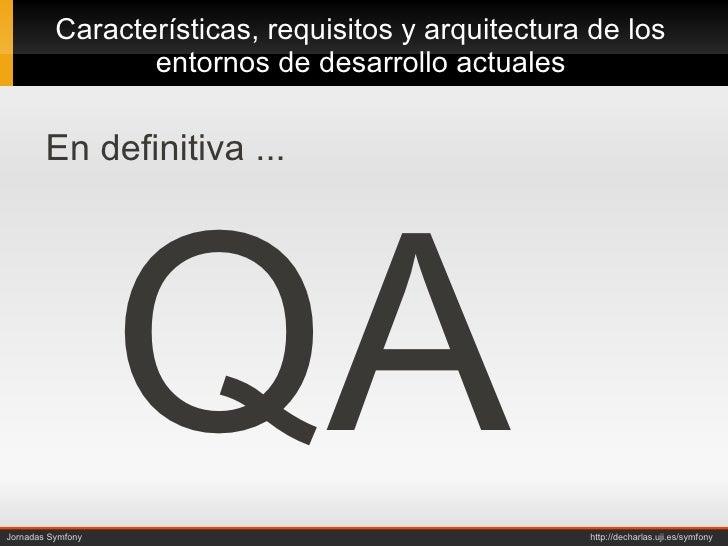Arquitectura y dise o de un entorno de desarrollo decharlas Arquitectura de desarrollo