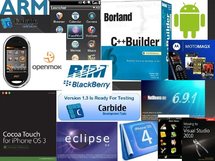 Entornos de desarrollo para móviles