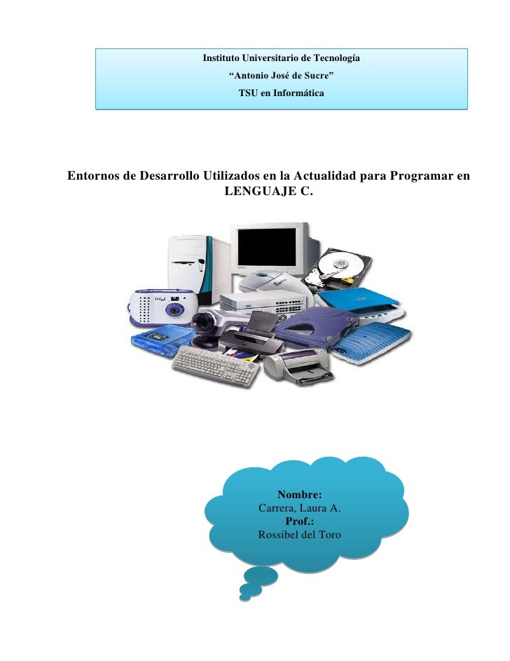 """Instituto Universitario de Tecnología                            """"Antonio José de Sucre""""                              TSU ..."""
