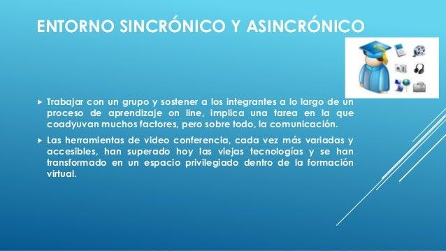 Entorno sincronico y asincronico Slide 2