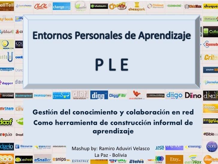 Gestión del conocimiento y colaboración en redComo herramienta de construcción informal de                 aprendizaje    ...