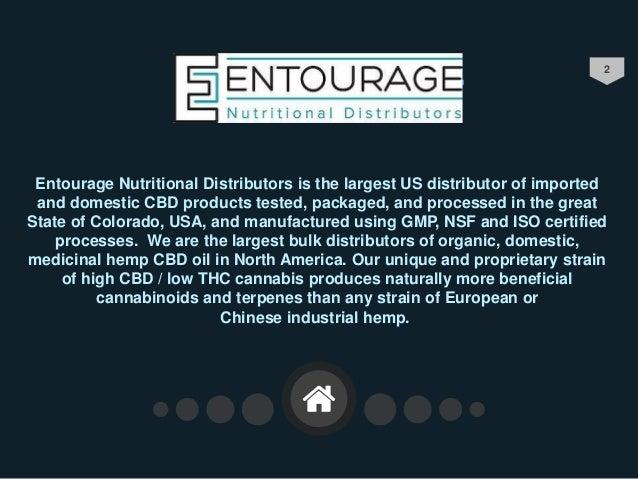 Entourage Nutritional Wholesale CBD | Bulk CBD Oils