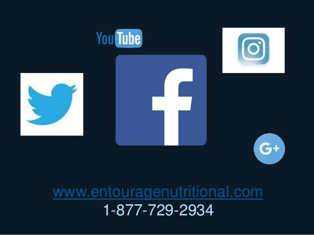 www.entouragenutritional.com 1-877-729-2934