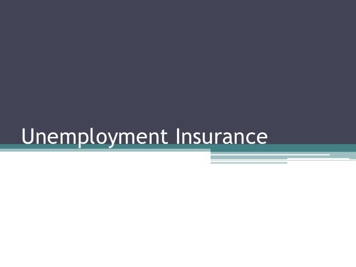 Unemployment Insurance Tax<br />Chad Ludlow<br />