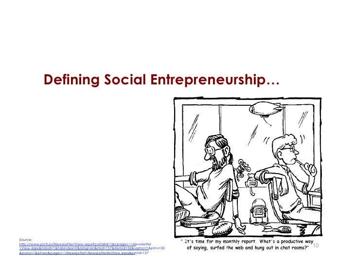 ENTR4800 Class 1: Definitions and Examples of Social