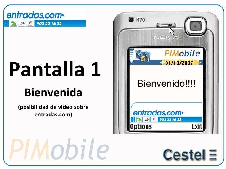 Video llamada para Entradas.com Slide 2
