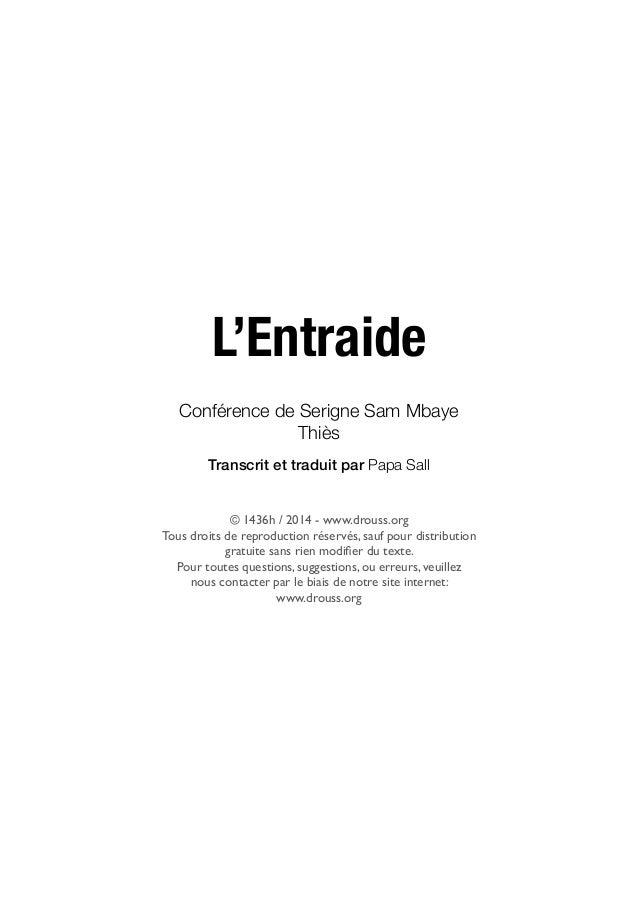 L Entraide