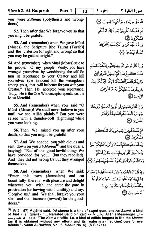 Translation of the Meanings of THE NOBLE QURAN in the