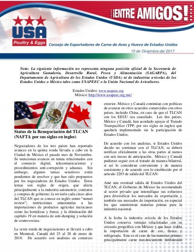 Nota: La siguiente información no representa ninguna posición oficial de la Secretaría de Agricultura Ganadería, Desarroll...