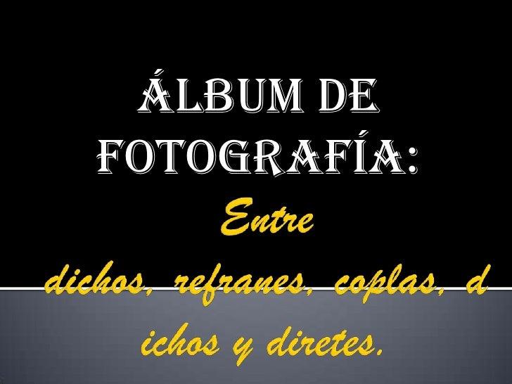 álbum deFotografía: