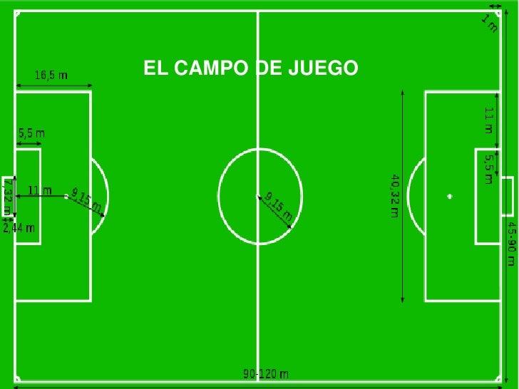 EL CAMPO DE JUEGOEl campo de juego.