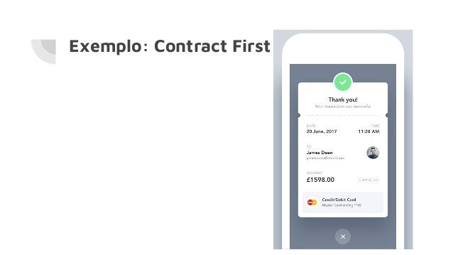 Exemplo: Contract First