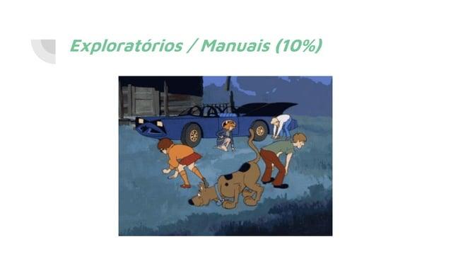 Exploratórios / Manuais (10%)
