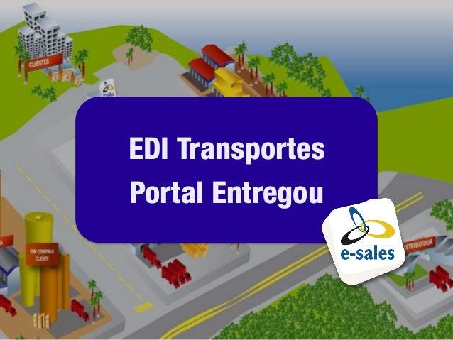 EDI TransportesPortal Entregou