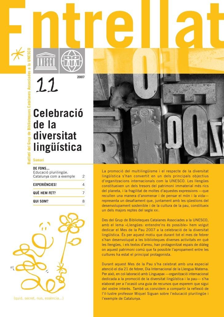 Butlletí del Grup de Biblioteques Catalanes Associades a la UNESCO                                                        ...