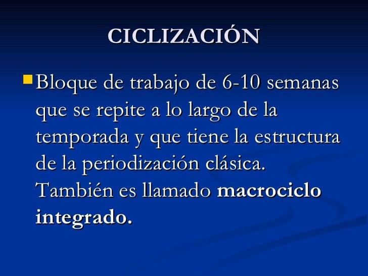 PERIODO Macrociclo I    (mes) Macrociclo II Macrociclo III Macrociclo IV