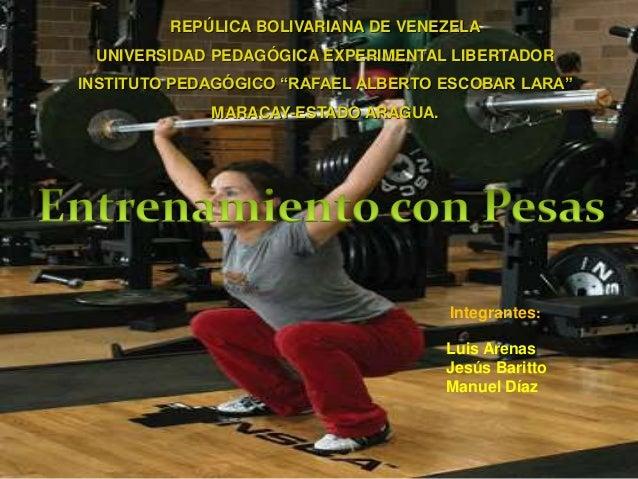 entrenamiento con pesas 2