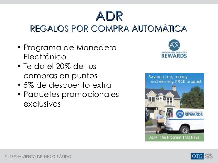 ADR REGALOS POR COMPRA AUTOMÁTICA <ul><li>Programa de Monedero Electrónico </li></ul><ul><li>Te da el 20% de tus compras e...