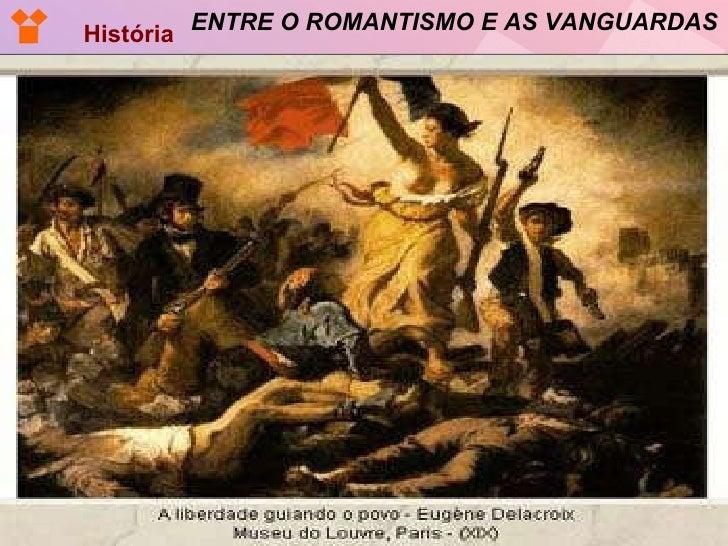 ENTRE O ROMANTISMO E AS VANGUARDAS História