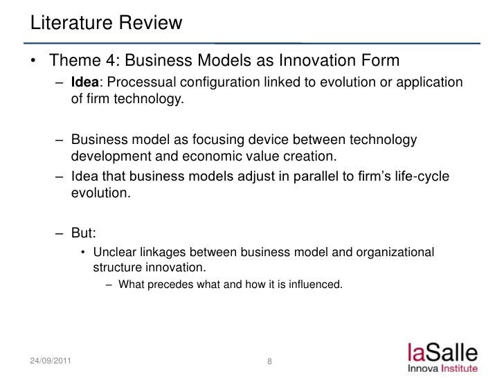What is business model summary