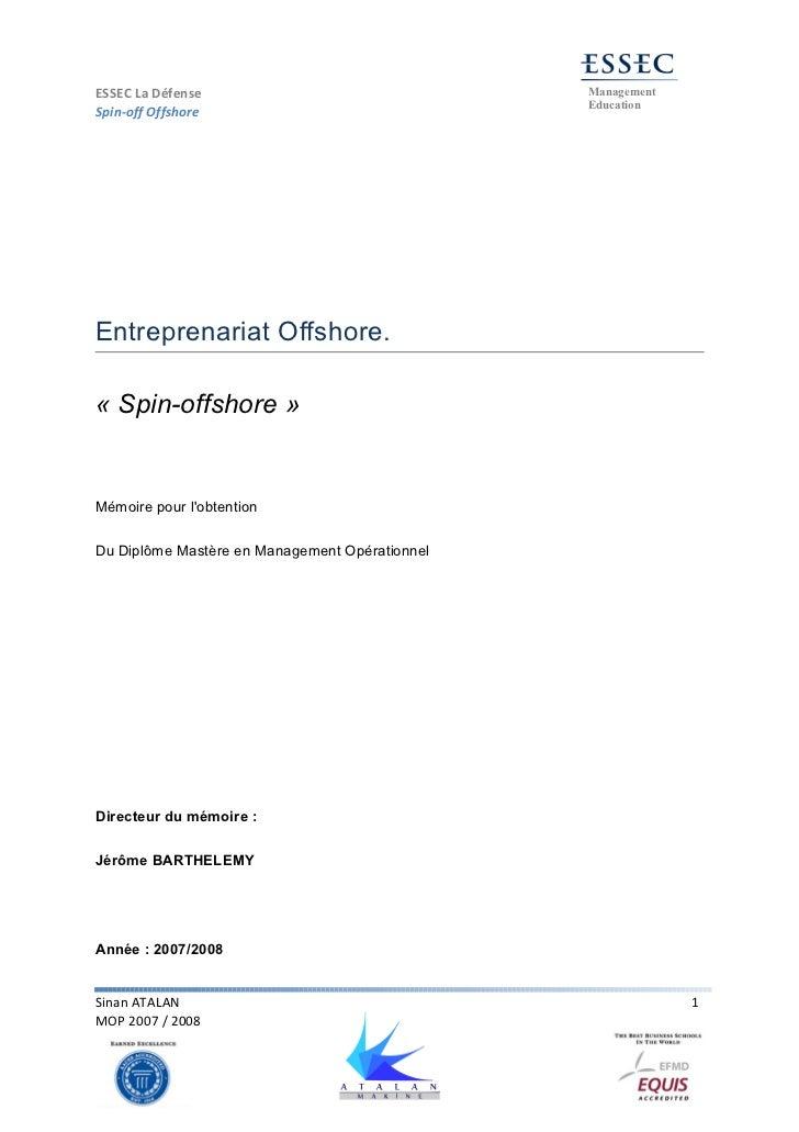 ESSEC La Défense                                Management                                                EducationSpin-of...