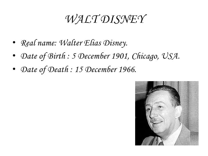 Appeared to be Walt Disney made through connected with wedlock to be able to a good woman right from Almería, Spain?