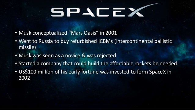 • Incorporated in July 2003 by Martin Eberhard and Marc Tarpenning • Musk led the Series A round of investment in February...