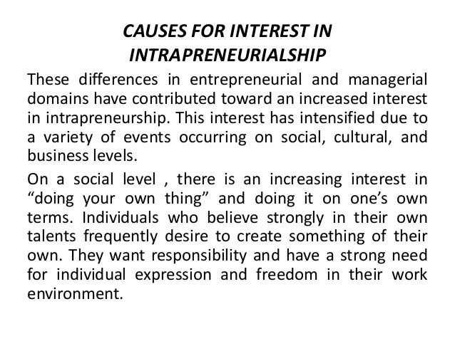 the entrepreneurial and intrapreneurial mind pdf