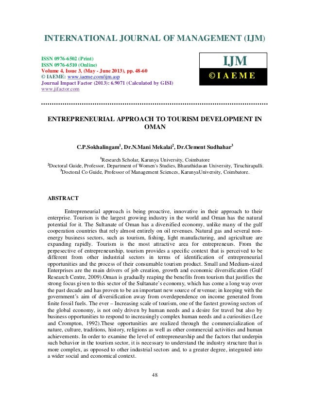 International Journal of Management (IJM), ISSN 0976 – 6502(Print), ISSN 0976 -6510(Online), Volume 4, Issue 3, May- June ...