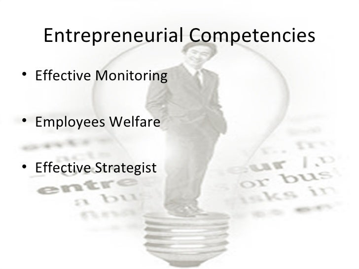 entrepreneurial competencies Innovation is possible only through knowledge in simple words, knowledge means collection of information and retention of facts that an individual stores in some parts of his brain elements of entrepreneurial competencies assignment help, elements of entrepreneurial competencies homework help.