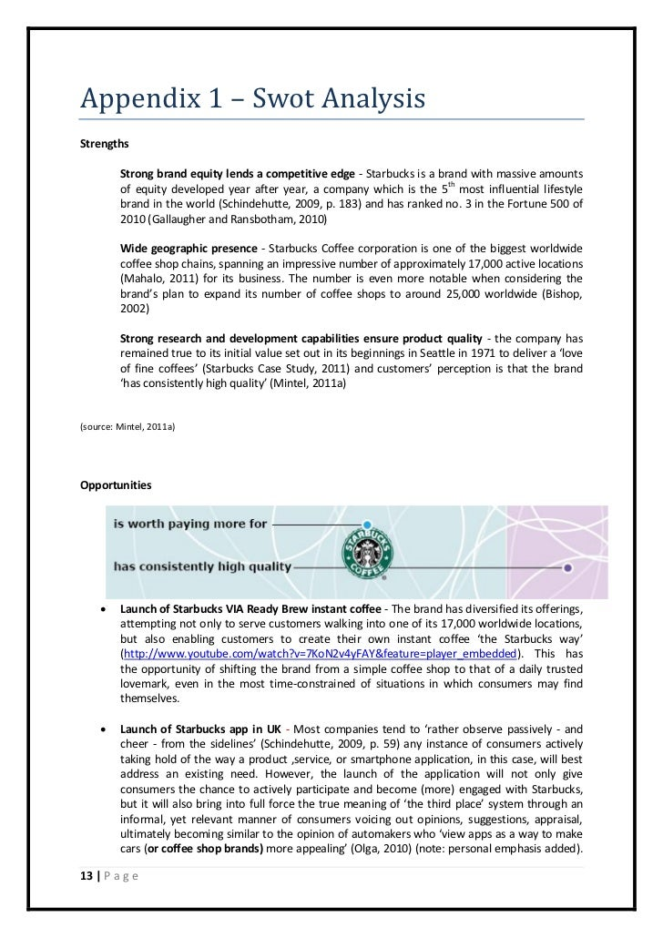 starbucks implementation plan Marketing plans of starbucks : marketing strategy or implementation of a new strategy starbucks a starbucks marketing plan is the first thing that.