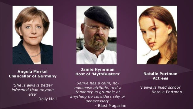 Istj famous personalities