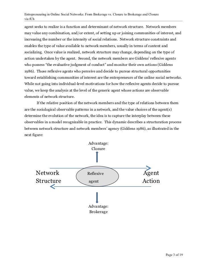 Entrepreneuring In Social Networks Slide 3