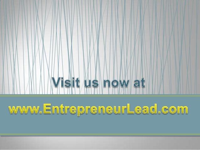 #1 Site for Entrepreneurs