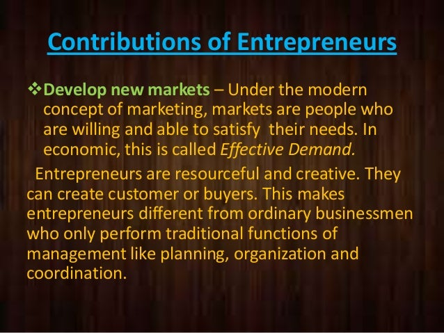 entrepreneurship theories and contributions of Collective entrepreneurship: in search of meaning david j connell december, 1999 4 despite say's and cantillon's contributions, orthodox microeconomic theories of.